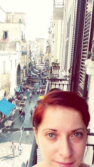 Self Portrait Around The World Naples