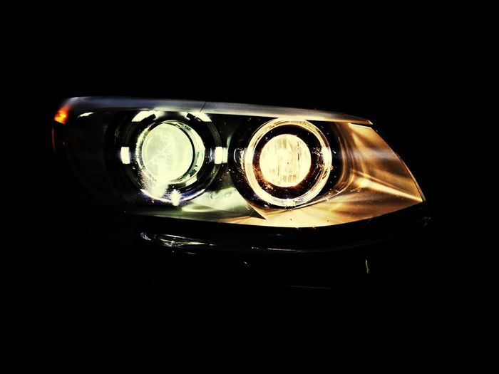 Light of our BMW