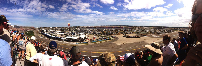 Daytona International Speedway Daytona 500 Racetrack Panoramic Race Day