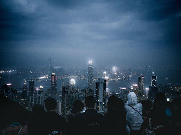 Hongkong, january 2016 The Week Of Eyeem EyeEmBestPics EyeEm Gallery EyeEm Best Shots EyeEm Best Edits Eye4photography  Showcase August 2016 EyeEm The Best Shots Eyemphotography Streetphotography Victoria Peak HongKong Hong Kong China Skyline City Life Cityscapes View View From Above