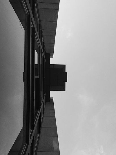 Architecture Blackandwhite Mirror Lines
