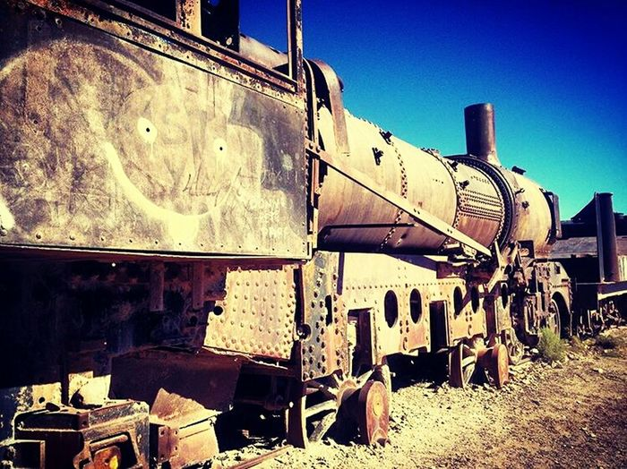 Trenes Antiguos Taking Photos Hello World Uyuni Train Cemetry Enjoying Life