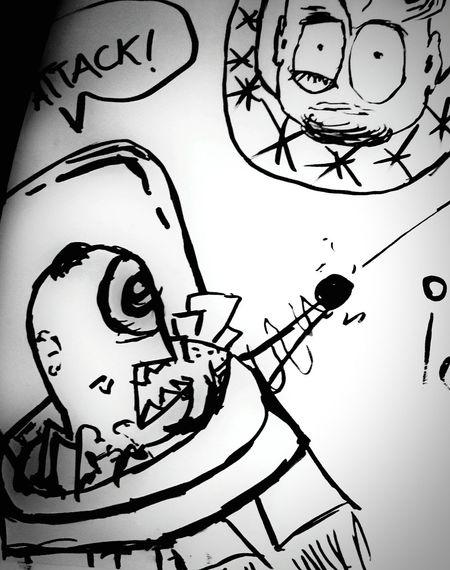 Aliens attack my comics... Ahhh :-D