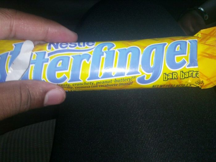 Candy (noone Lays A Finger On My Butterfinger)