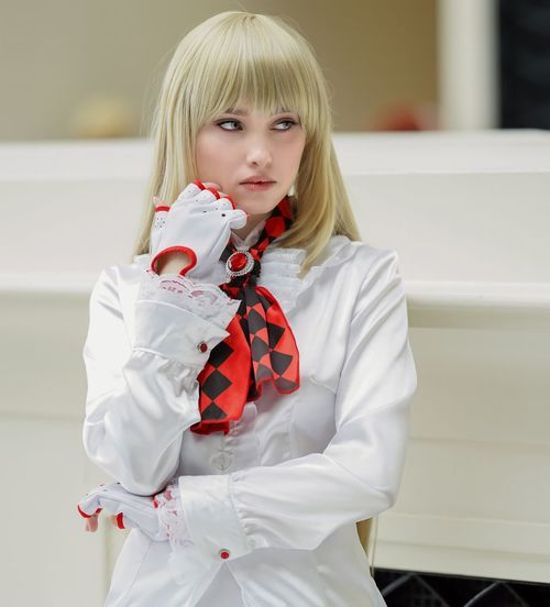 Katsucon 2019 Cosplaygirl Cosplayer Cosplay Katsucon 2019 Katsucon Childhood Child Girls One Person Real People Front View Lifestyles Portrait Women White Color Three Quarter Length Cute Hairstyle