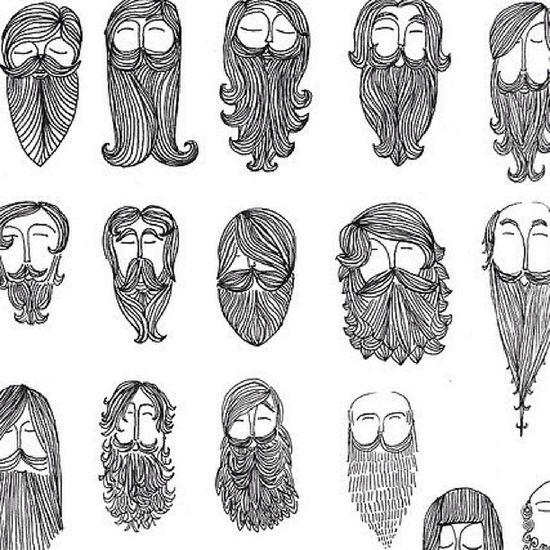 Beard Beardedmen Men Drawing sketch pretty cute face hair