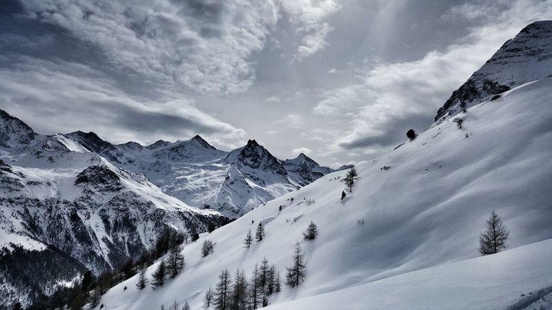 Offpiste in Val D'Anniviers