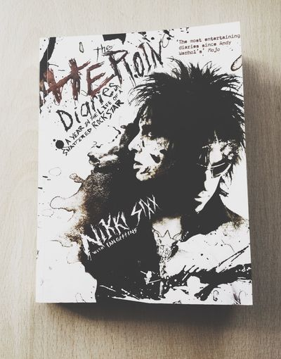Yes! I finally have it! Nikki Sixx Mötley Crüe Book Enjoying Life