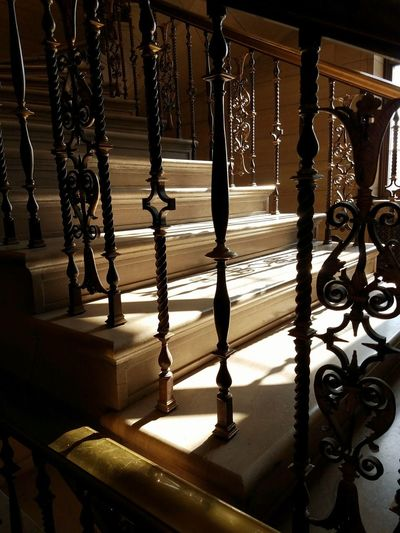 Self care = Visiting beautiful places. I take time to enjoy the sunlight shining through, hitting architectural gems with bursts of gold. I imagine who designed the space and the way they thought about each detail. I want to feel their emotions, to revel in the way it inspires me. Architecture Nostalgia Patterns Beauty Stairs Sunlight Inspired Alive  No People Day Close-up Love Yourself