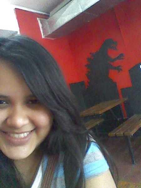 Just Smile  Girl Hello World