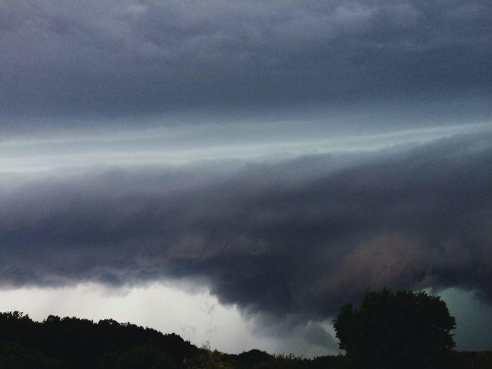 Unwetter Wolken Dunkel Gewitter Gewitterstimmung Clouds Stormy Thunderstorm The Great Outdoors - 2018 EyeEm Awards