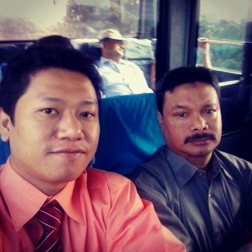 Me and mr uray jakarta maret 2013