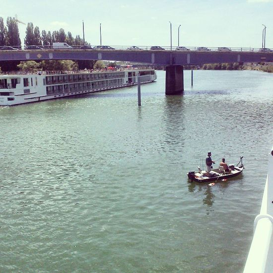 Chalon Saone Boat Ship Sommer River Sundeck Instadaily