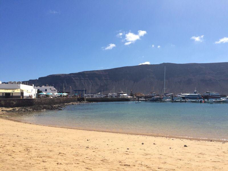 La Graciosa Isla Paisaje