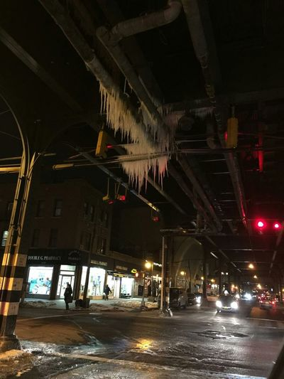 NYC Photography NYC Subway Ditmars Astoria, Queens Icicles Huge EyeEm Nature Lover Love Winter 2015 February