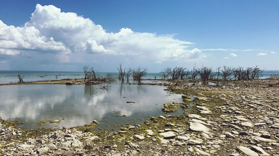 Presa Vicente Guerrero en Padilla, Tamaulipas, México. Water Nature Outdoors Horizon Over Water Tranquility