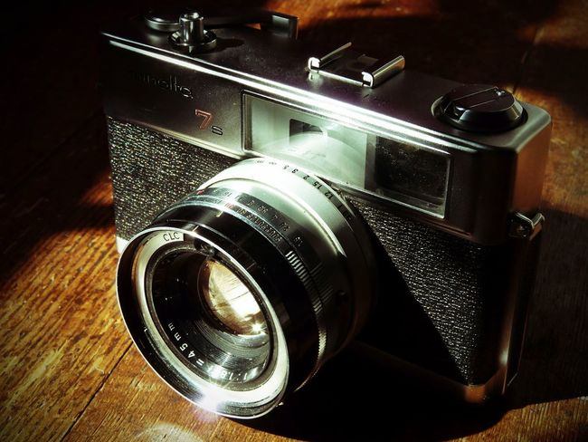 Retro Styled Camera - Photographic Equipment Photography