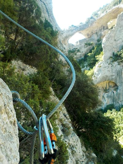Huesca Geology Enjoying Life Sierra De Guara Climbing Paradise Geological Formation Beatiful Nature Safety Tow Mountain Extreme Sports Adventure High Angle View Climbing Equipment Rock Climbing Mountain Climbing Climbing Steep Canyon Rock Formation