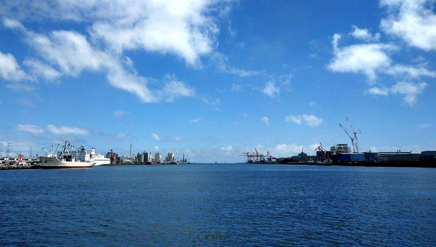Sendai port Walking Around Relaxing Taking Photos Hanging Out Hi! View Port