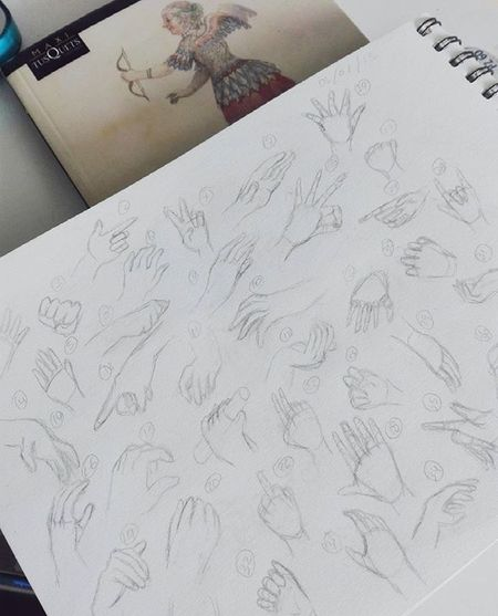 Deformidades Sketch Colombia Bogotá Sketchbook Sketchaday Art Handgestures Anatomy