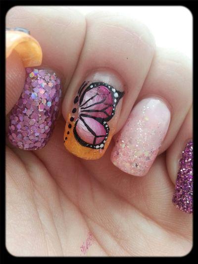 Naglar Onestroke Nailart  Nails