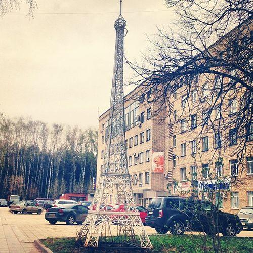 Tula Eiffel Tower O_o How ? Why ?? Trip Travel