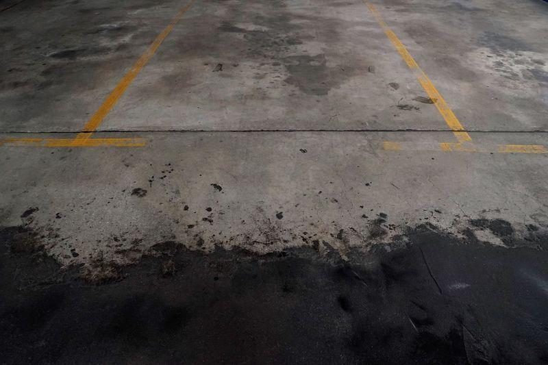 Full frame shot of wet road