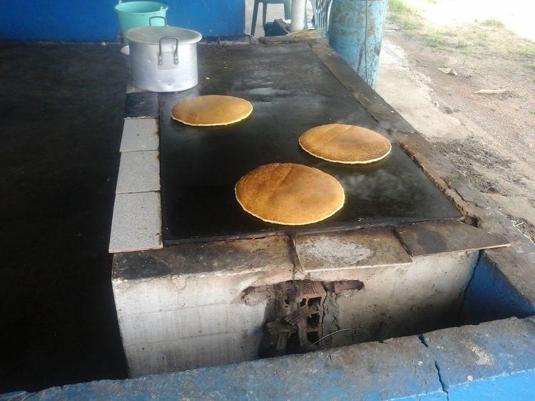 las cachapas de maiz mas sabrosa en el Estado Monagas sector el Zamuro Nature