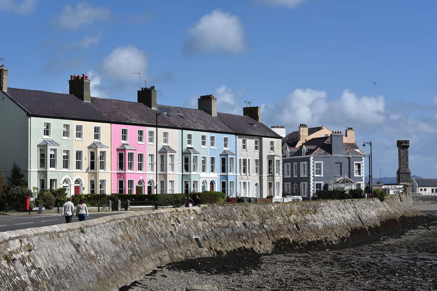 Beaumaris, Anglesey/ Ynys Môn , Wales/ Cymru Architecture Building Exterior Built Structure Cloud - Sky Day House No People Seaside Tourism Destination