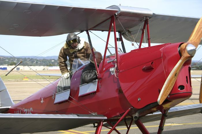 Historic Aircraft - Tiger Moth Airshow Runway Tiger Moth Travel Travel Photography Aerospace Industry Air Vehicle Aircraft Airplane Airport Airport Runway Biplane Mode Of Transport Old Aircraft Outdoors Propeller Airplane Transportation Vintage Vintage Aircraft