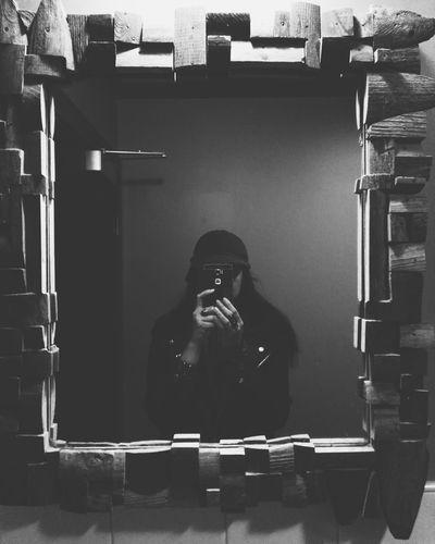 Mirror mirror on the wall Mirrorselfie Mood Bathroomselfie Mobile Conversations Horrorgal Spooky Indoors  Blackandwhite EyeEmNewHere