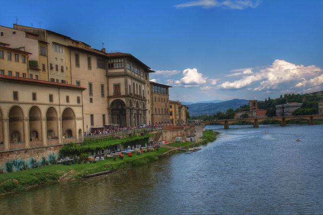 Canonphotography Canon_photos Canon600D EyeEm Gallery Firenze, Italy Architecture Blue Building Exterior Built Structure City Cloud - Sky Day Nature No People Outdoors Sky Town Travel Destinations Water Tourism River Holiday
