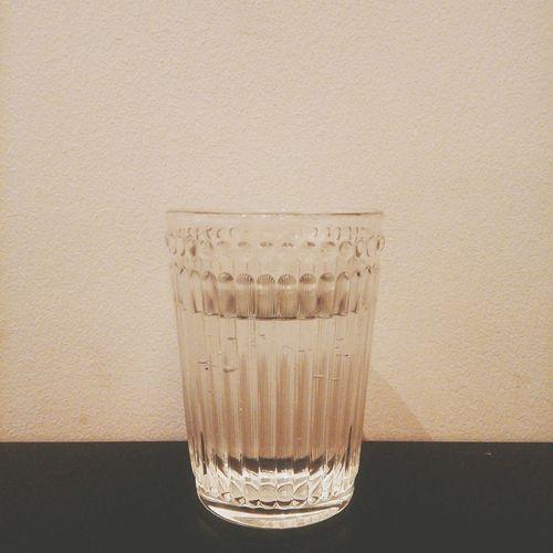 Glass Water Enjoying Life