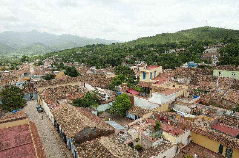 Trinidad Town - Cuba City Communism Cuba Trinidad Built Structure Cobblestone Town Unesco