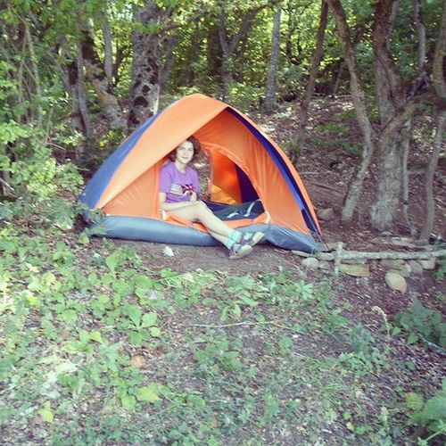 Tent Camping Sionilake Forest ourrepublic vintage