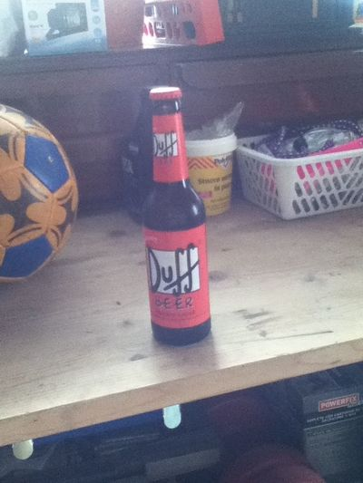 football and duff beer ⚽