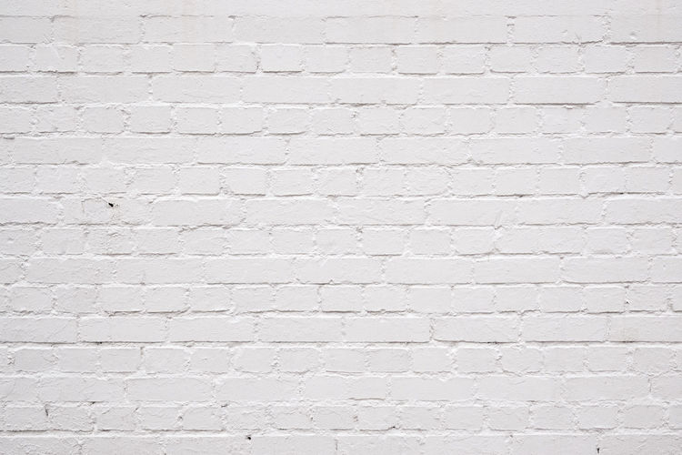 Brick Wall Minimalist Textured  Textures and Surfaces Background Backgrounds Brick Bricks Minimal Pattern Texture White White Background White Brick Wall White Color