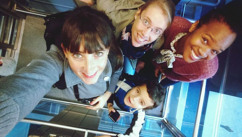 The elevator selfie Global Eyeem Adventure - Berlin