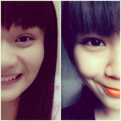 My twin sister. ♥ Loveher Sisterfromanothermother