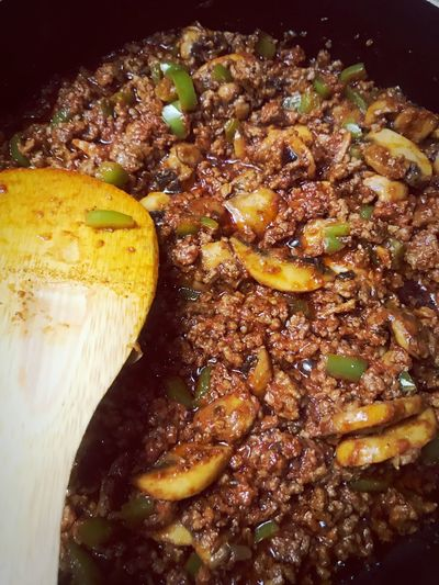 Yummy 😋🌶🔥 Chilli Sexyfood Lasagna Lasagna #lunch Food Lazania Food Freshness Close-up Indoors  Ready-to-eat