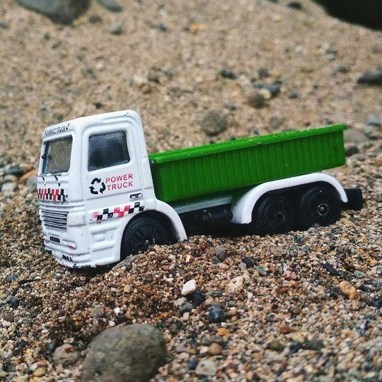 power truck Miniaturdie-cast
