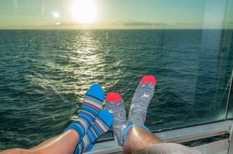 Pair of feet