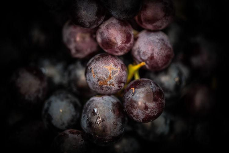 Close-up of blackberries