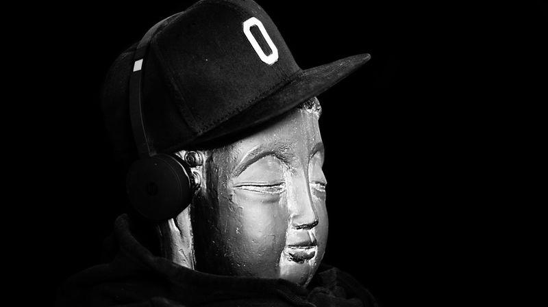 Headware Black Background Portrait Studio Shot One Person Clothing Headshot Indoors  Dark