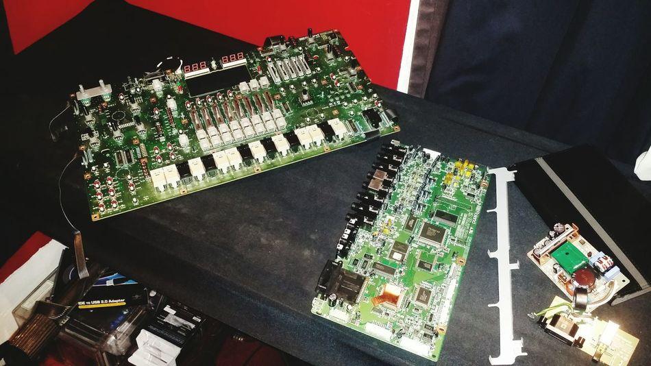 Music Roland Circuit Bending Roland MC505