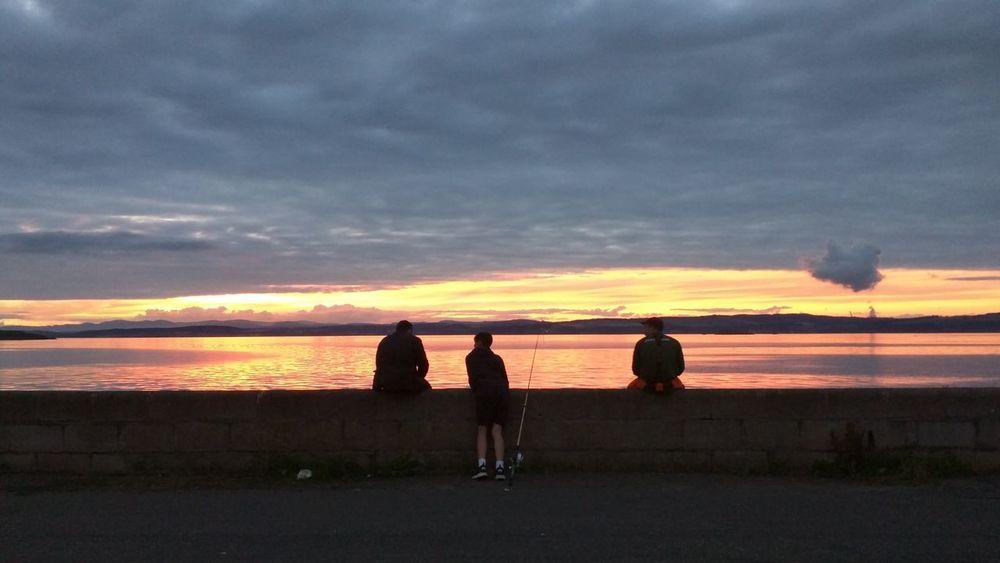 Fishing Fishing Rod Sunset Sunset_captures Sunset Fishing