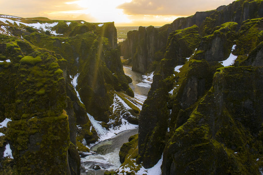 Fairytale  Fairytales & Dreams Iceland Iceland Memories Iceland Landscape Scandinavia Beauty In Nature Canyon Fantastic View Great Landscape Iceland Trip Iceland_collection Icelandic Landscapes Mountain Nature No People Outdoors Ring Road Scenics Sky Sunset Tranquility Wallpaper