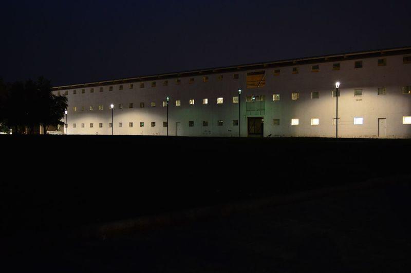 Prison Stadium No People Valparaíso Valparadise Valpo Night Nightphotography Lighting