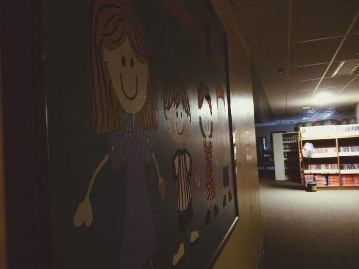 Children Elementary School Drawing Girls And Boys Younglings Painting Don't Grow Up It's A Trap Woodhaven
