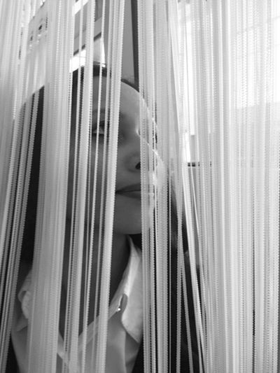 She was hidden from herself but not from the world. Abstract Abstract Photography Black And White Black And White Photography Blackandwhite Blackandwhite Photography Close Up Close-up Curtains Girl Girls One Person One Woman Only Portrait Portrait Of A Woman Portrait Photography Portraits Side View Woman Woman Portrait Women Women Portraits Young Adult Young Adult Woman Young Women EyeEm Selects